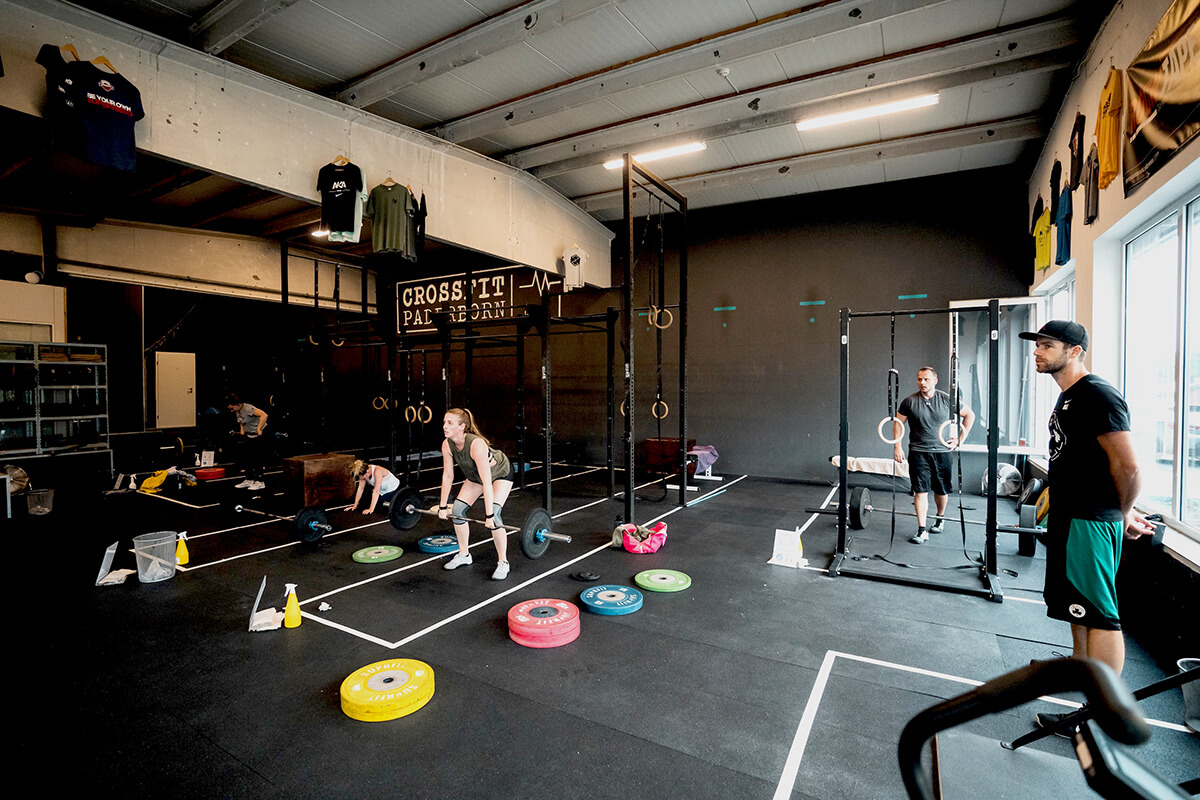 Crossfit Halle mit Coach Max Wils Athletics